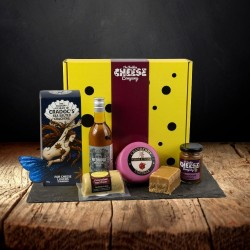 Mother's Cheese and Wine Gift Box